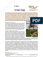 Asian Hornet Trap, NBU Leaflet