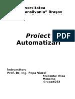 Proiect Automatizari