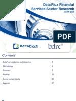 IR015 DataFlux Financial Services Survey
