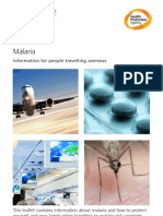 Malaria-Information for People Travelling