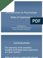 States of Consciousness