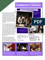 FCC Newsletter January '12