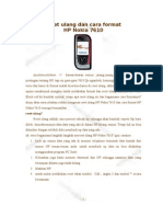 Reset Ulang Dan Cara Format HP Nokia 7610
