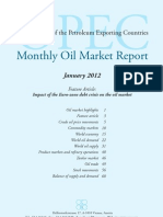 OPEC - Monthly Oil Market Report - January 2012