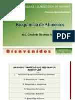 Introduccion al curso de Bioquimica de alimentos
