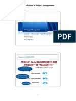 IT Project Management - Lezione 1 - Introduzione Al Project Management