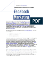 Marketing Digital - Facebook Para Empresas (Com Casos de Estudo)