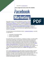 Marketing Digital - Facebook Para Empresas (Com Casos de Estudo)