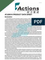 ATJ2091H Data SheetV1.0