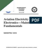 US Navy Course NAVEDTRA 14318 - Aviation Electricity & Electronics-Maintenance Fundamentals 2002