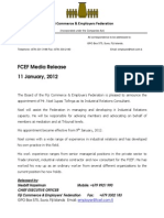 FCEF Media Release