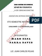 Monografia en Pro to Board Con Circuitos