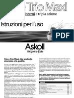 Manuale Istruzioni TRIO E TRIO MAXI