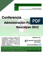Confer en CIA Agenda 8 y 9 de Febrero de 2012