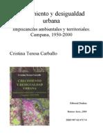 Carballo Cristina Crecimiento y Desigualdad Urbana