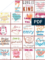 Valentine Printable-- Lunch Love Notes!