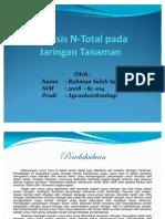 Presentasi N Total