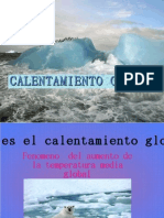 Global Calentamiento