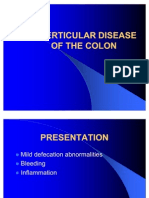 Diverticular Disease of Colon