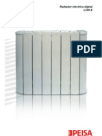 Manual Radiador Electrico Digital PEISA
