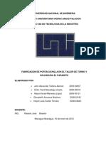 Diagramas Del Proceso de Produccion de Portacuchillas