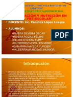 EXPOSICION NUTRI 2-ALIMENTACIÓN Y NUTRICIÓN EN PRE-ESCOLAR