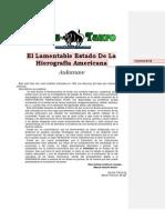 Aukanaw - La Ciencia Mapuche 7. El Lamentable Estado de La Hierografia Americana