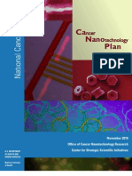 Cancer Nanotechnology Plan