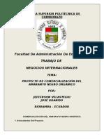 Proyecto de Comercializacion Del Amaranto.
