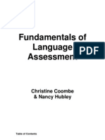 Fundamentals of Language Assessment Manual by Coombe and Hubley