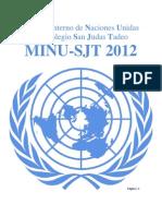 Guia de Preparacion de La Asamblea General MINU-SJT 2012