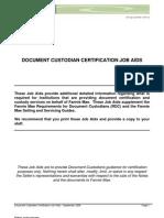 Fannie Mae Document Custodian Protocol 08
