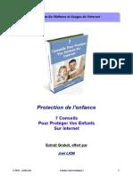7 Conseils pour protéger vos enfants sur internet
