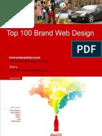 Top 100 Brands Website Design in the World