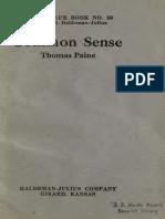 Paine, Common Sense