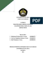 Laporan Umum PKPA Apotek Kimia Farma No 202