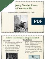 Don Quijote y Sancho Panza Una Comparaci