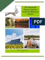 Schuweiler University of Minnesota Sustainable Energy Solutions