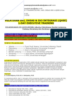 Pelatihan ISO