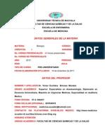 UNIVERSIDAD TÉCNICA DE MACHALA BORRADOR SILLABUS