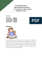Pedagogia y Andragogia