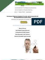 Estrategias Didácticas basadas en la web  para el desarrollo del Bio-aprendizaje en el tutor virtual