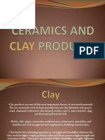 Ceramics and Clay Products
