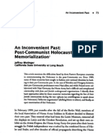 Blutinger - Post-Holocaust H Memorialization
