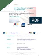 Rapport complet Baromètre Intention de vote Vague8
