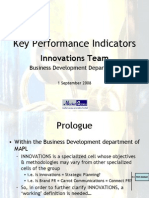 KPI for MAPL Innovations