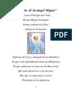 Oración Al Arcángel Miguel