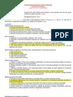 An1 Semenstrul1 - a de Gestiune [Baze Si Internet (Grila+Raspunsuri)]