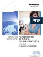 Panasonic NS1000 Brochure