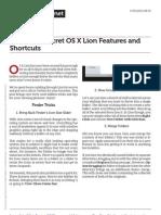 40 Super Secret Osx Lion Features and Shortcuts